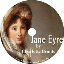 Jane Eyre, Charlotte Bronte Audiobook unabridged Fiction English on 1 MP3 CD