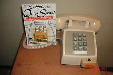 VTG TELEPHONE BELL CUT OFF - INDICATOR LIGHT. RING, LIGHT FLASHES ON RING. LPN