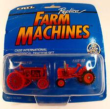 ERTL Replica Farm Machines Case international Historical Tractor Set  en boîte