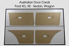 Ford XE XD Manual Windows Winder. Door Cards. Blank Trim Panels. Sedan, Wagon.