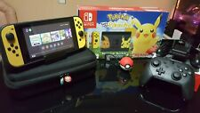 Nintendo Switch Pokemon Lets Go Pikachu Eevee Edition Bundle + Extra