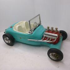 New ListingVintage Barbie Ken Doll Hot Rod Car 1963 Irwin Turquoise 1960s