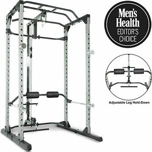 Fitness Reality 810XLT Super Max Power Cage with Optional Lat Pull-down Attach