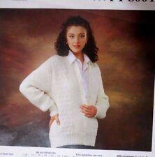 afab4a9532f4c0 Bendigo 8 ply knitting pattern Leaflet no. PT 8004 Ladies cardigan sizes  30-40