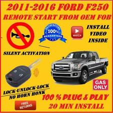 100% Plug and Play Remote Start 2011-2016 Ford F250