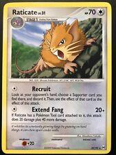 Carte Pokemon RATICATE 29/99 RARE Platine ARCEUS English NEUF