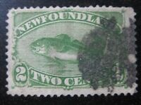 NEWFOUNDLAND Sc. #46 scarce used stamp! SCV $12.00