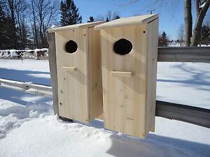 Wood Duck Nest Box (2 pack)  Cedar