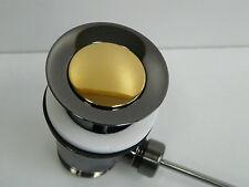 Ablaufgarnitur Aranja/Gold (24 Karat), Ablaufventil, Excenter, Waschtisch
