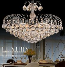 Crystal Chandelier Modern Elegant Pendant Lamp  Ceiling Fixture 3 Lighting BT