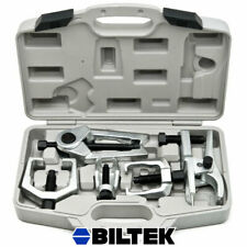 6 PC Front End Ball Joint Service Tie Rod Tool Kit Set Pitman Arm Puller Remover