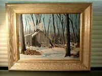 Mid 20th Century Impressionist Landscape Painting