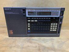 Sony ICF-2010 Portable Shortwave Radio Receiver Air/FM/LW/MW/SW TESTED