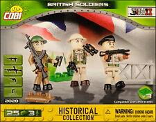 COBI British Soldiers - 3 figurines (2028) - 25 elem.
