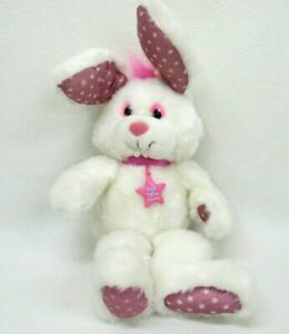 Vtg Magic Glow Friends Bunny Stuffed Plush Applause