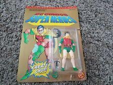 Vtg Toy Biz DC COMICS SUPER HEROES ROBIN Action Figure MOC Unpunched NEW! 1989