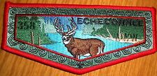 ECHECONNEE 358 CENTRAL GEORGIA COUNCIL 2015 VERY SMALL LODGE SUMMER SERVICE FLAP
