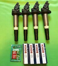 2011-2016 Mini Cooper N16 1.6L Non-Turbo Ignition Coil+Spark Plugs Tune Up Set