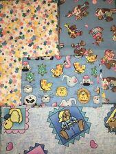 COTTON SCRAP BAGS- Children's Fabric 4