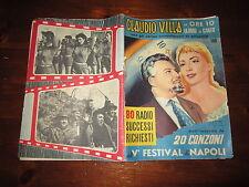FOTOROMANZO ORE 1 LEZIONE DI CANTO CON CLAUDIO VILLA N°1-2 LUG-AGO 1957