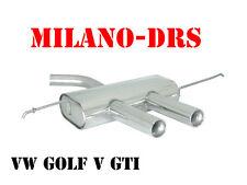 SCARICO RAGAZZON OMOLOGATO VW GOLF V GTI - MODELLO R32 (58.0246.27)