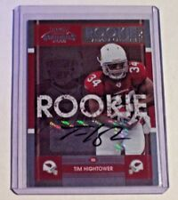 2008 Contenders Rookie Ticket Autograph Tim Hightower Cardinals Richmond Saints
