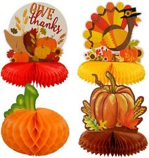 Fall Thanksgiving Harvest Table Centerpieces 10 inch, Select Type