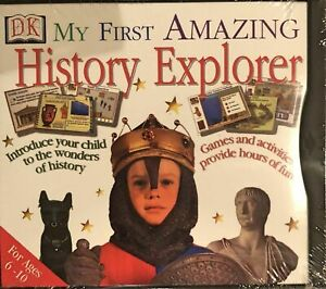 DK My First Amazing History Explorer Pc Brand New XP CD DISC ONLY #K404