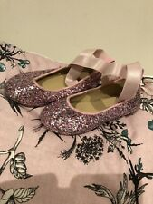 Girls Size 6 Target Ballet Sparkly Shoes