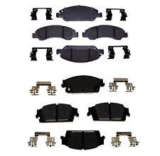 Front & Rear Ceramic Brake Pad Set Kit ACDelco For Cadillac Chevrolet Suburan