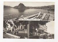 Hotel Helvetia Castagnola Lugano RP Postcard 618a