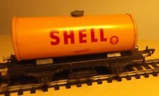 Fleischmann H0 Blech Kesselwagen SHELL Made in US Zone of Germany