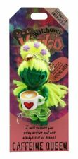 "Watchover Voodoo Doll  -  Caffeine Queen   3"" New Lucky Charm"