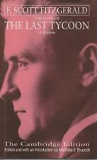 F SCOTT FITZGERALD , THE LOVE OF THE LAST TYCOON