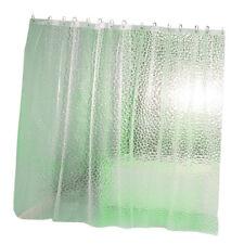 3D PEVA Mildew Resistant Bathroom Shower Curtains with Rustproof Grommets