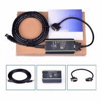 PLC Cable for Siemens S7 200/300/400 6ES7 972-0CB20-0XA0 USB-MPI+ PC USB-PPI US