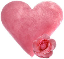 """"""""""" SPECIAL OFFER """"""""   3 x Wild Rose Heart Shaped Guest Soaps - FREE P+P"""