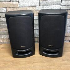 Technics SB-CH404 Hi-Fi Stereo 3-Way Speakers 80W 6 Ohms Good Condition