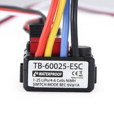 ESC Brushless for 1/18 1/24 RC Model Car off-Road Electronic Speed Controller