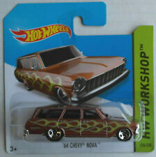 Hot Wheels 1964 Chevy Chevrolet Nova Station Wagon braunmetallic Neu/OVP ERROR!!