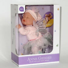 ANNE GEDDES DOLL 'Bean Filled' collection NEW in Box BABY FAIRY GIRL DOLL 9''