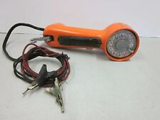 Western Electric Rotary Butt Phone Tester Telephone Tester Orange NOT TESTED