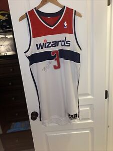 Autographed Bradley Beal Game Worn Jersey