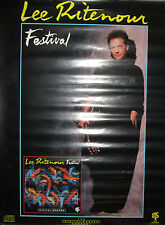 Lee Ritenour Festival, Grp promotional poster, 1988, 18x24, Vg, jazz guitar