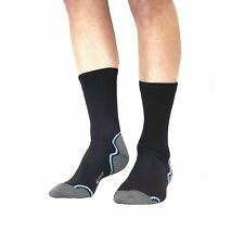 EDZ Merino Waterproof Motorcycle Calf Length Boots Socks Bike Winter Warm