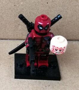 1 Lego kompatibel Deadpool (2) Custom   neue Minifigur