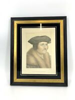 Antique Tho Moor Ld Chancelour In His Majesty's Collection Framed Etching