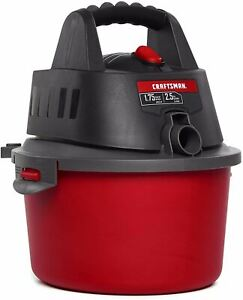 CRAFTSMAN CMXEVBE17250 2.5 gallon 1.75 Peak Hp Wet/Dry Vac, Portable Shop Vacuum