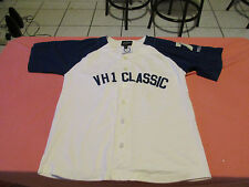 VH1 CLASSIC BASEBALL JERSEY SIZE S MUSIC CHANNEL