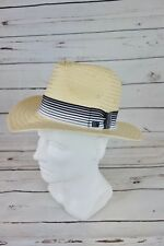 NEW Sean John Men s Grosgrain Panama Hat Natural Color Size ... f4e804b2939c